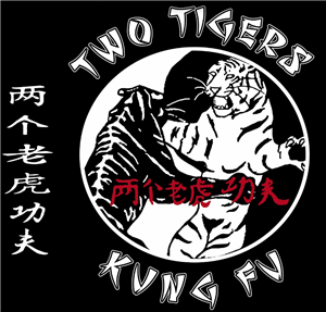 Two Tigers Kung Fu logo