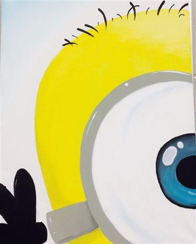 disney yellow, one eyed minion